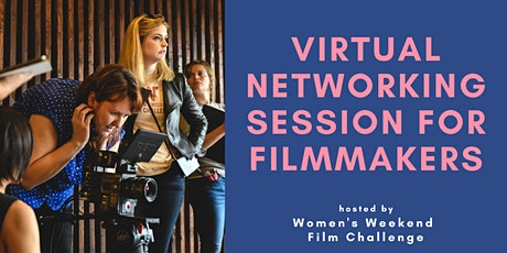 Virtual networking session for filmmakers tickets
