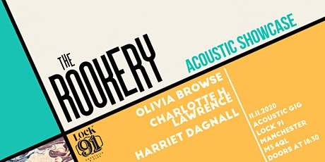 The Rookery: Acoustic Showcase | Lock 91, Manchester tickets