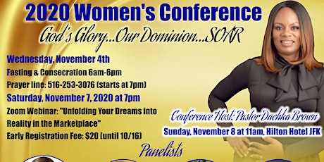CIOM 2020 Women's Conference 11am Worship Service tickets