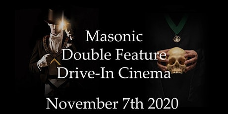 Masonic Double Feature Drive-In Cinema tickets