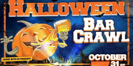Halloween Bar Crawl - Des Moines - Masked Up tickets