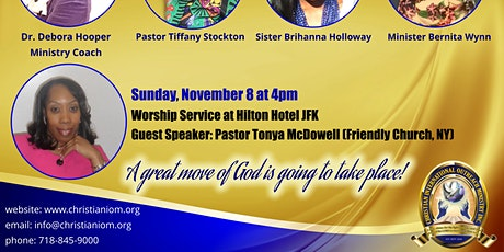CIOM 2020 Women's Conference 4pm Worship Service tickets