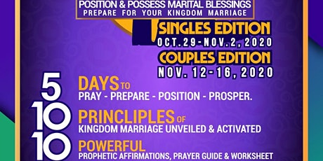 Kingdom Marriage Unveiled - COUPLES EDITION tickets