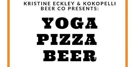 Yoga Pizza Beer tickets