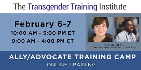 Ally/Advocate Virtual Training Camp - Open to All!   Feb 6-7 2021 tickets