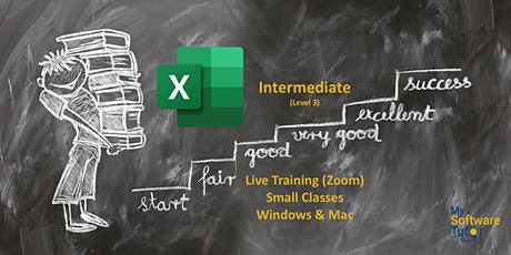 Excel Intermediate Live tickets
