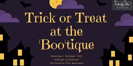 Trick or Treat at the 'Boo'tique