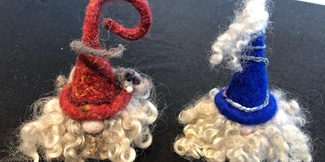 Needle Felting Christmas Tomte / Gnome tickets