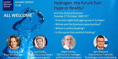 Hydrogen, the future fuel: Hype or Reality? bilhetes