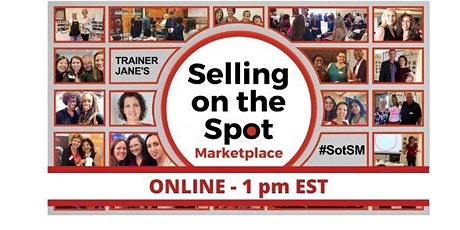 Selling on the Spot Marketplace - Saturday! tickets