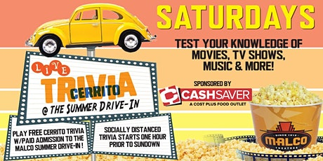 General Knowledge Trivia Night at the Summer Drive-In