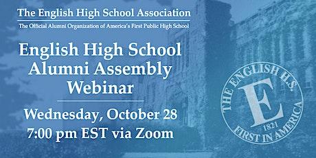 English High School Alumni Assembly Webinar tickets