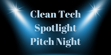 Clean Tech Spotlight Pitch Night Nov 2020 tickets