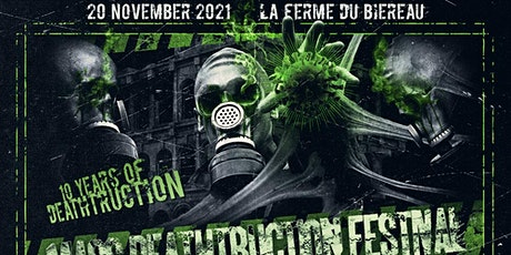Mass Deathtruction Festival 2021 tickets