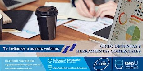 Curso Online: Ciclo de Ventas y herramientas comerciales. entradas