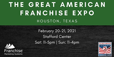 The Great American Franchise Expo | Houston, Texas tickets