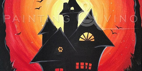 Spooky House painting tickets