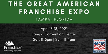 The Great American Franchise Expo | Tampa, Florida tickets
