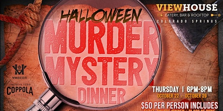 Murder Mystery Dinner at ViewHouse tickets