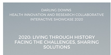 2020:Living though history. Facing the challenges, Sharing Solutions tickets