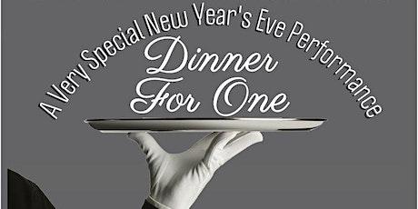 Dinner For One-NYE Dinner Show