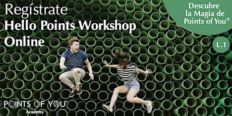 Hello Points L.1 Workshop Online ingressos