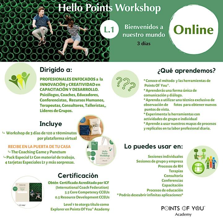 Hello Points L.1 Workshop Online image