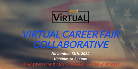 Veterans Virtual Career Fair Collaborative tickets