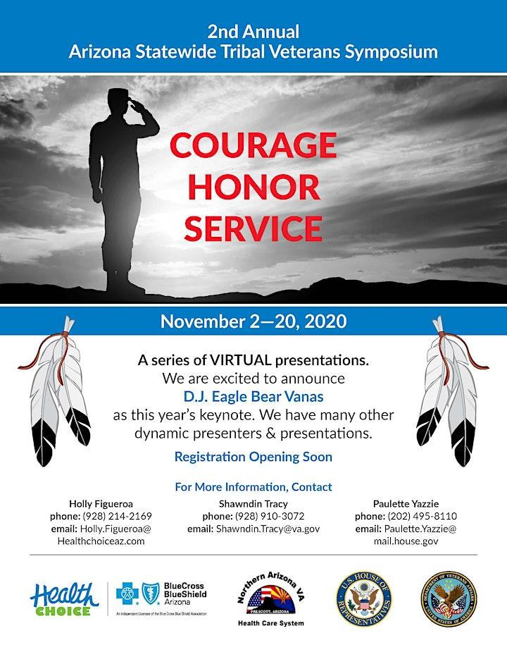 2nd Annual Statewide Tribal Veteran Symposium image