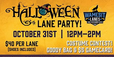 Halloween Family Lanes Party tickets