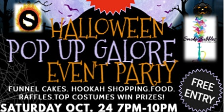 Halloween Pop Up Galore Event Party tickets
