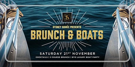 Soirée Presents - Brunch and Boats! tickets