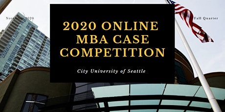 2020 MBA 7th Annual  Case Competition tickets