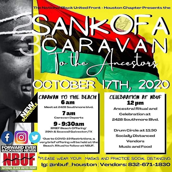 23nd Annual Sankofa Caravan to the Ancestors image