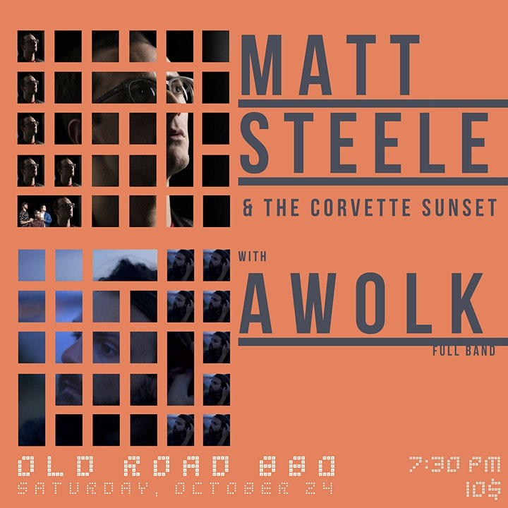Matt Steele & The Corvette Sunset with Awolk at Old Road BBQ image