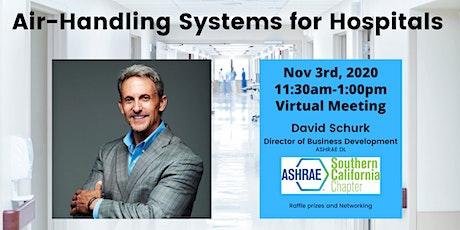 ASHRAE SoCal Nov 3rd Chapter Web Meeting tickets