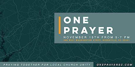 ONE Prayer  2020 tickets