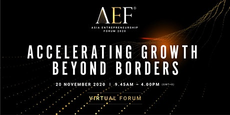 (Virtual) Asia Entrepreneurship Forum (AEF) 2020
