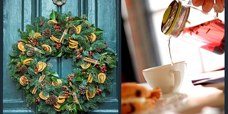 Artificial Christmas Wreath Workshop & Afternoon Tea tickets