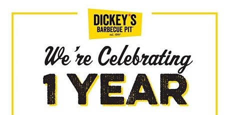 Celebrate the One-Year Anniversary of Dickey's Barbecue Pit at Dania Pointe tickets