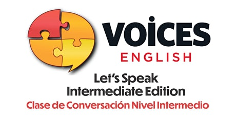Let's Speak!  Intermediate Edition 02NOV20 - 10DEC20 entradas