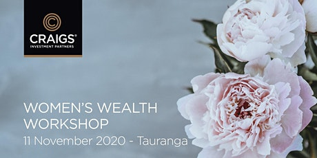 Women's Wealth Workshop - Tauranga tickets