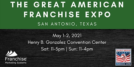 The Great American Franchise Expo | San Antonio, Texas tickets