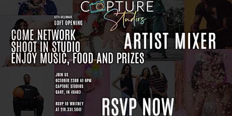 Capture Studios Artist Mixer tickets