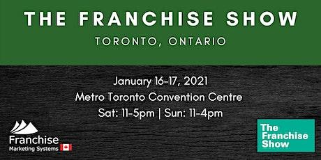 The Franchise Show | Toronto, Ontario tickets