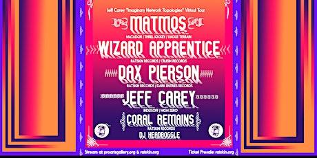 Matmos, Wizard Apprentice, Dax Pierson, Jeff Carey, Coral Remains, DJ HB tickets