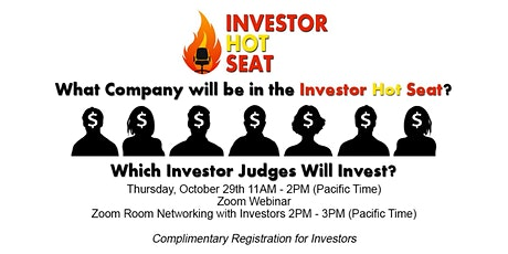Investor Hot Seat tickets