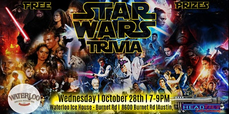 Star Wars Trivia Night at Waterloo Ice House - Burnet Rd tickets