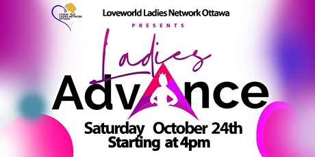 Ladies Advance tickets