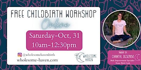 FREE Virtual Childbirth Workshop tickets